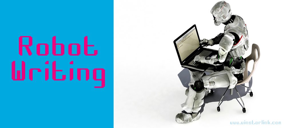 robot writing penulisan public relations yang baik