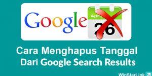 Cara Menghilangkan Tanggal Dari hasil Pencarian Google