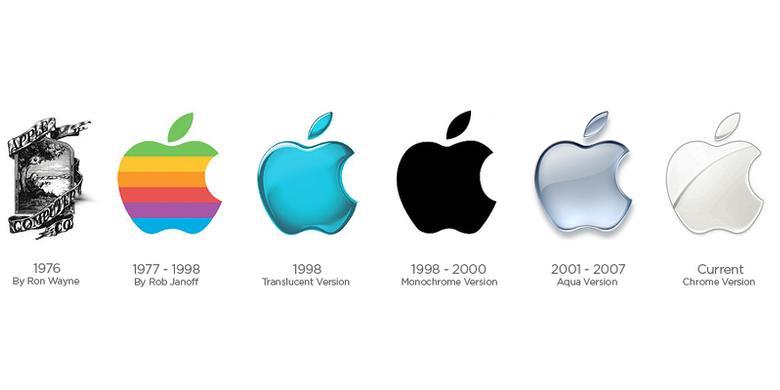Sejarah Logo Apple Tergigit