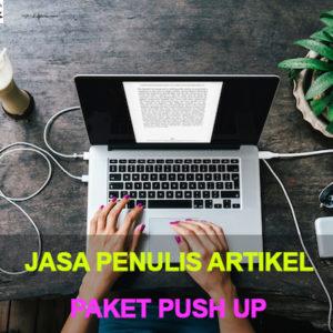 Jasa Penulis Artikel Indonesia paket push up