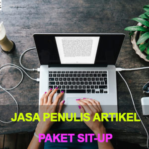Jasa Penulis Artikel Indonesia paket sit-up