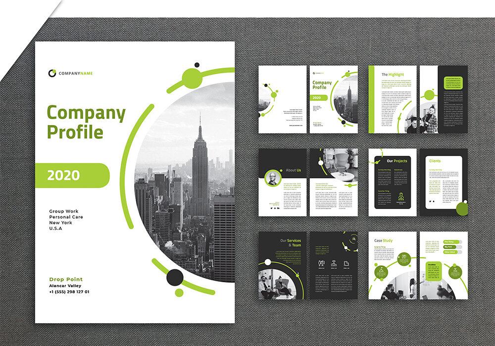 jasa pembuatan desain company profile 2