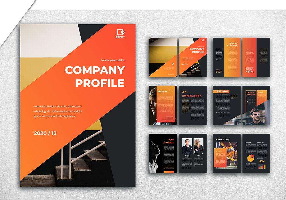 jasa pembuatan desain company profile 3