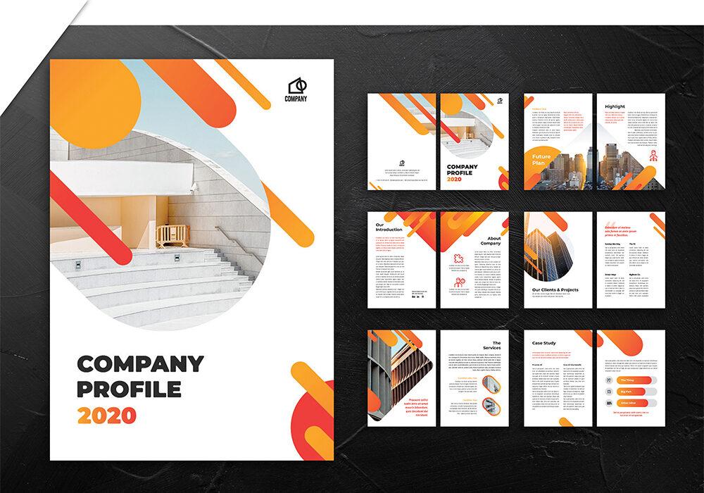 jasa pembuatan desain company profile 4