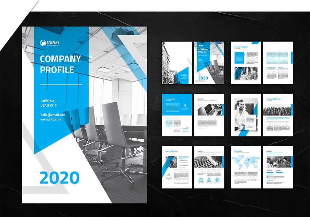 jasa pembuatan desain company profile 5