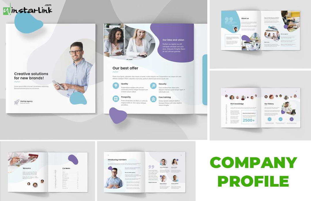 jasa pembuatan desain company profile - 11 Square