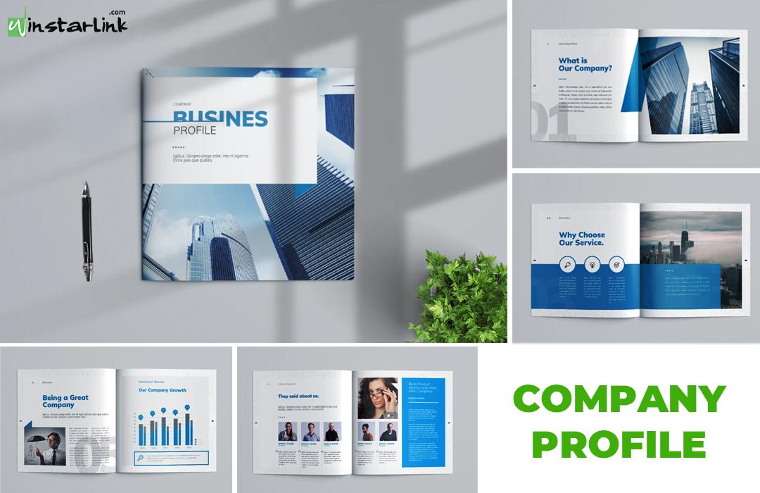 jasa pembuatan desain company profile - 12 Square