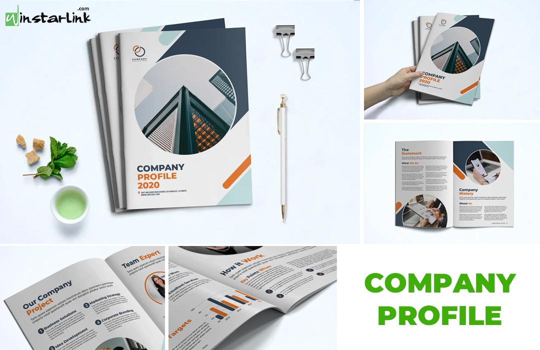 jasa pembuatan desain company profile - 3 Potrait