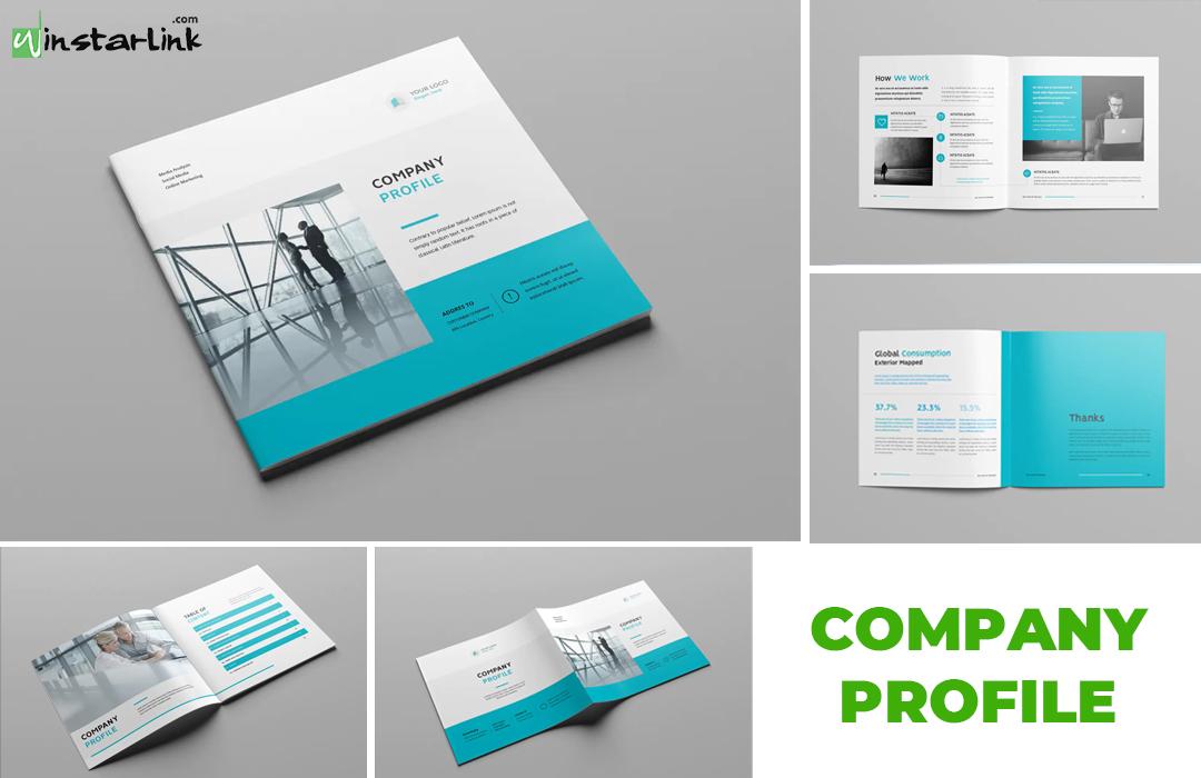 jasa pembuatan desain company profile - 9 Square