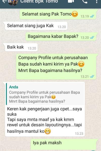 testimonial company profile 4