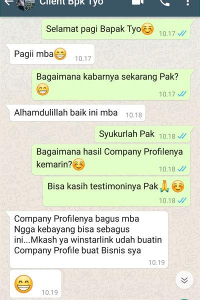testimonial company profile 8
