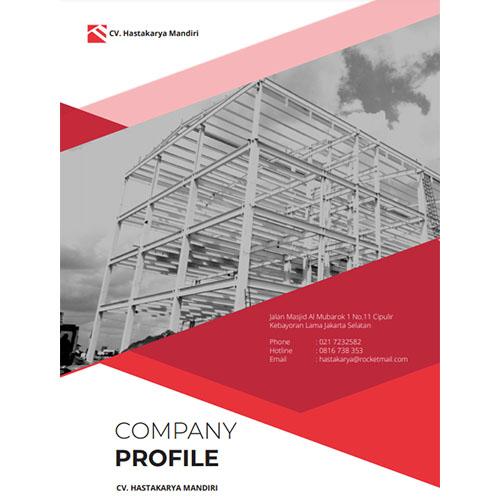 Jasa Pembuatan Desain Company Profile Perusahaan CV-Hastakarya-Mandiri