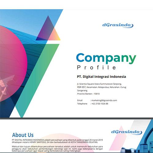 Jasa Pembuatan Desain Company Profile Perusahaan Digital-Intergrasi-Indonesia