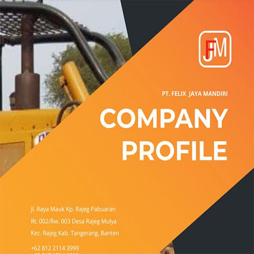 Jasa Pembuatan Desain Company Profile Perusahaan PT-Felix-Indonesia