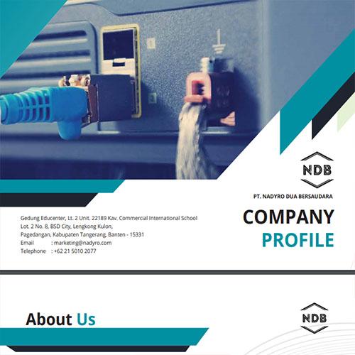 Jasa Pembuatan Desain Company Profile Perusahaan PT-Nadyro-Dua-Bersaudara