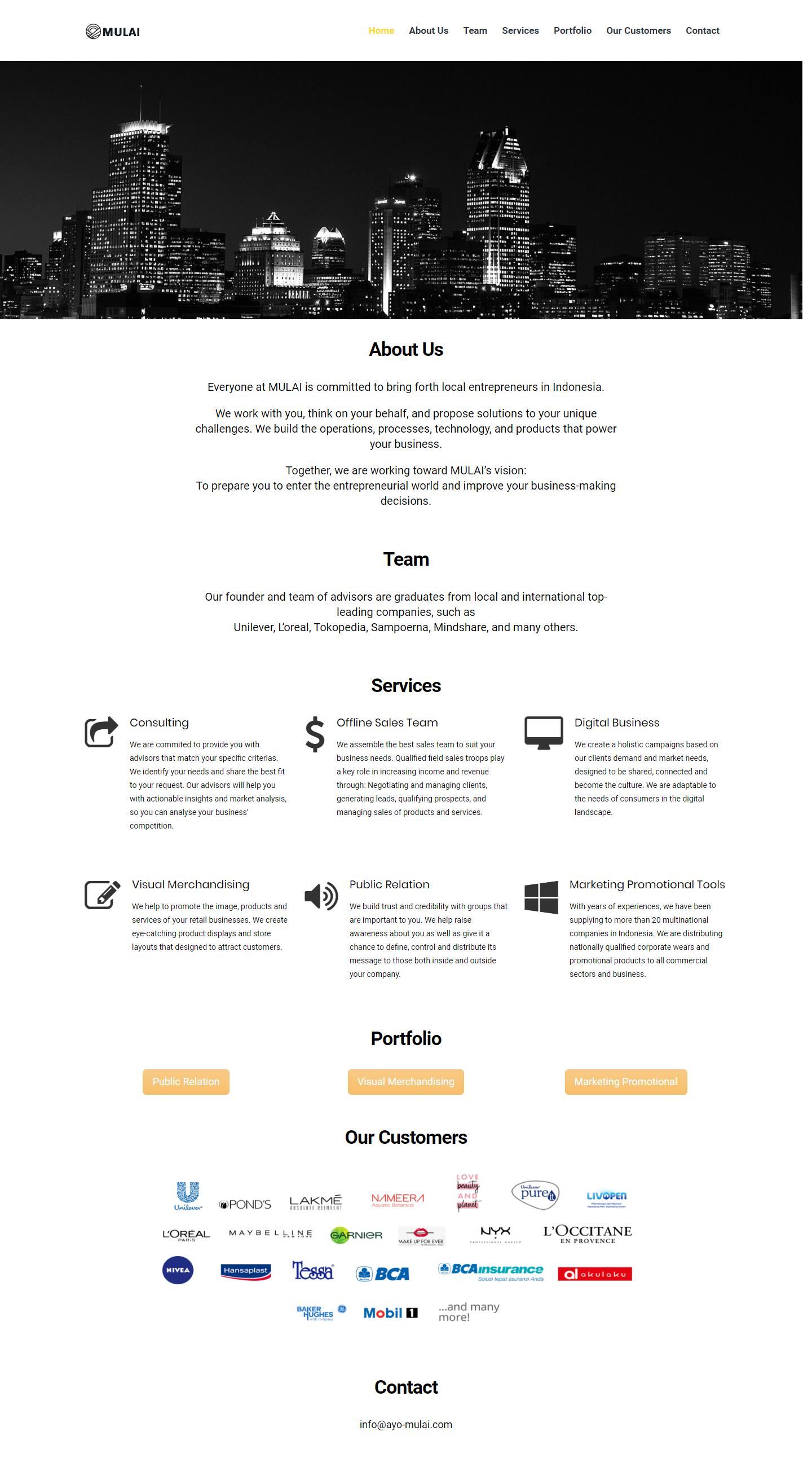 Ayo-Mulai com – Strategic Partner Consultant