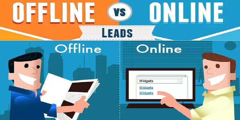 perbedaan pemasaran online dan offline