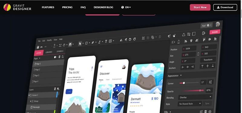 Aplikasi Desain Grafis Online Terbaik dan Gratis