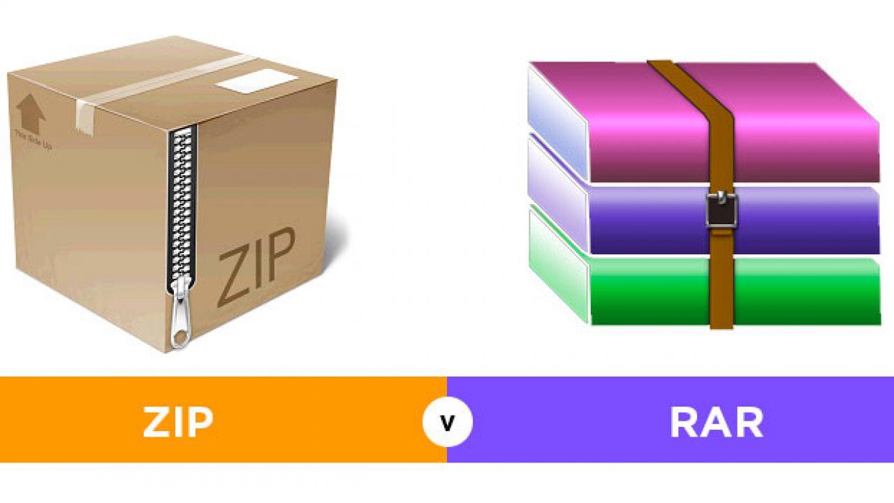 Perbedaan ZIP dan RAR