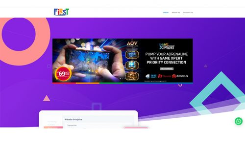 portfolio jasa pembuatan website dana