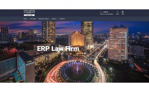 portfolio jasa pembuatan website erp lawyers 1