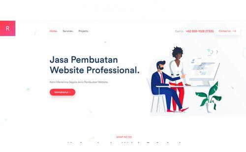 portfolio jasa pembuatan website gremory 1