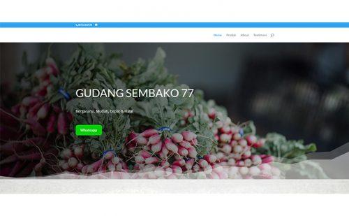 portfolio jasa pembuatan website gudang sembako 1