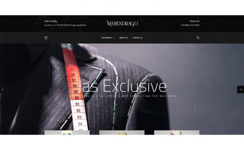 portfolio jasa pembuatan website mahendrago 1