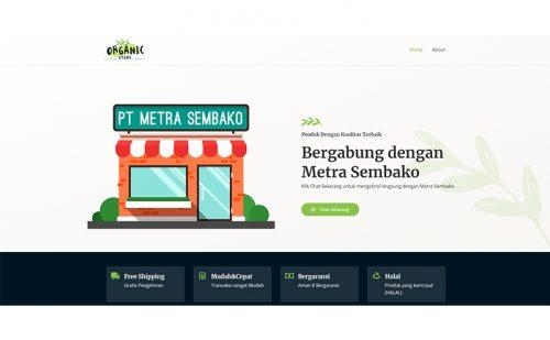 portfolio jasa pembuatan website mitra sembako 1