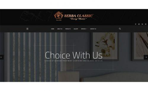 portfolio jasa pembuatan website serba klasik 1