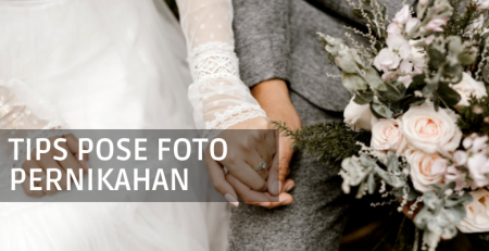 pose foto pernikahan